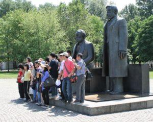 Denkmal für Karl Marx und Friedrich Engels